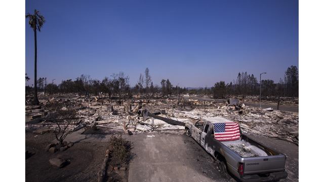 Multiple Wildfires Continue To Ravage Through California Wine Country_651619