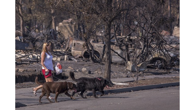 Multiple Wildfires Continue To Ravage Through California Wine Country_651621