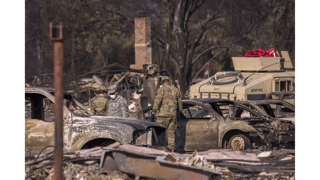 Multiple Wildfires Continue To Ravage Through California Wine Country_651623