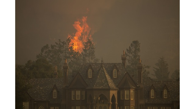 Multiple Wildfires Continue To Ravage Through California Wine Country_651628