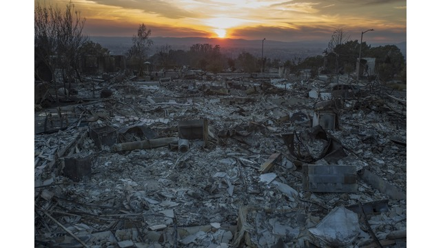 Multiple Wildfires Continue To Ravage Through California Wine Country_651630