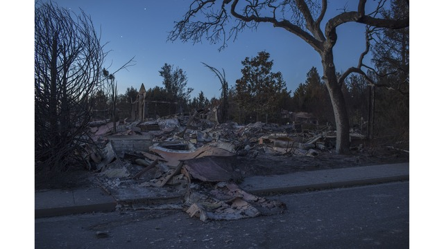 Multiple Wildfires Continue To Ravage Through California Wine Country_651631
