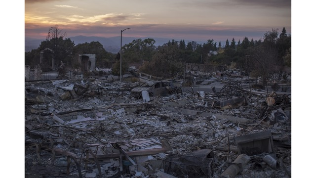 Multiple Wildfires Continue To Ravage Through California Wine Country_651632