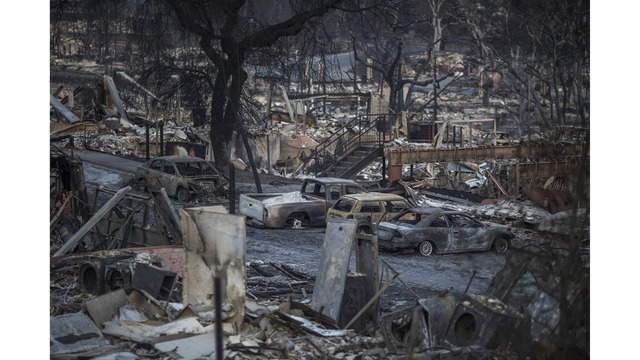 Multiple Wildfires Continue To Ravage Through California Wine Country_651633