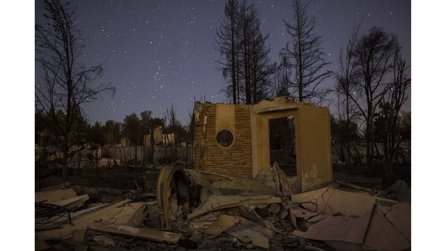 Multiple Wildfires Continue To Ravage Through California Wine Country_651635