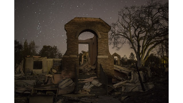 Multiple Wildfires Continue To Ravage Through California Wine Country_651636