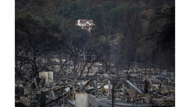 Multiple Wildfires Continue To Ravage Through California Wine Country_651637