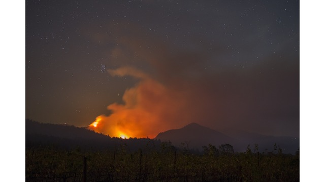 Multiple Wildfires Continue To Ravage Through California Wine Country_651638