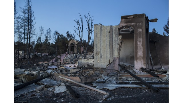 Multiple Wildfires Continue To Ravage Through California Wine Country_651639