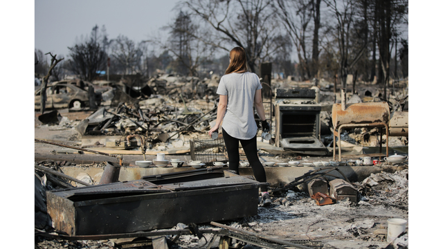 Multiple Wildfires Continue To Ravage California Wine Country_651643