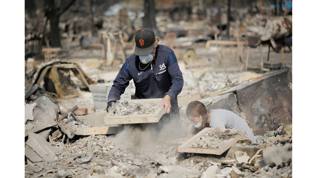 Multiple Wildfires Continue To Ravage California Wine Country_651644