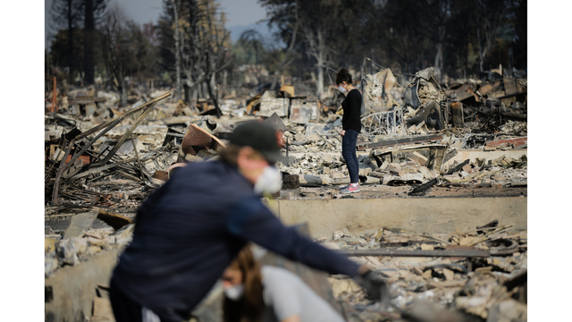 Multiple Wildfires Continue To Ravage California Wine Country_651645