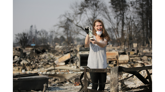 Multiple Wildfires Continue To Ravage California Wine Country_651647