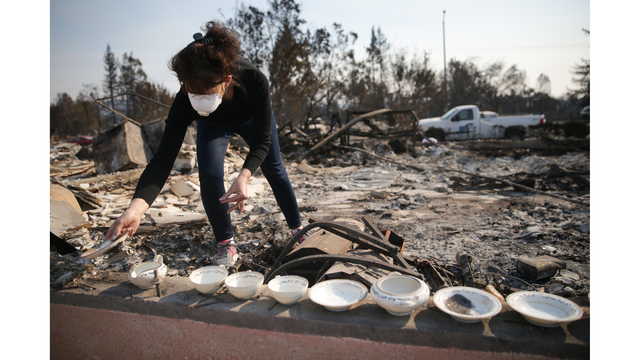Multiple Wildfires Continue To Ravage California Wine Country_651648