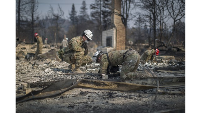 Multiple Wildfires Continue To Ravage Through California Wine Country_651649