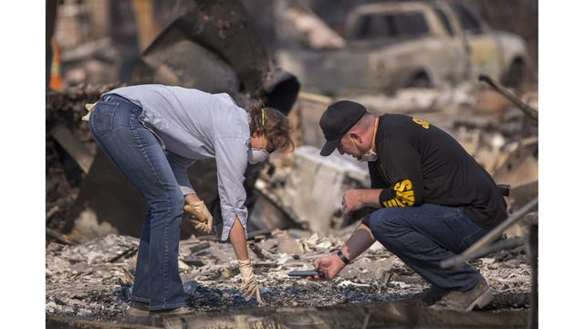 Multiple Wildfires Continue To Ravage Through California Wine Country_651650