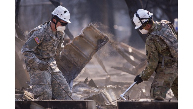 Multiple Wildfires Continue To Ravage Through California Wine Country_651652