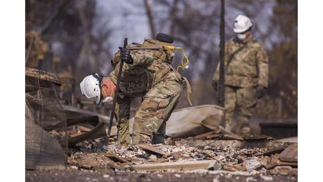 Multiple Wildfires Continue To Ravage Through California Wine Country_651654