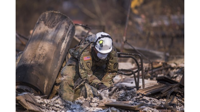 Multiple Wildfires Continue To Ravage Through California Wine Country_651655
