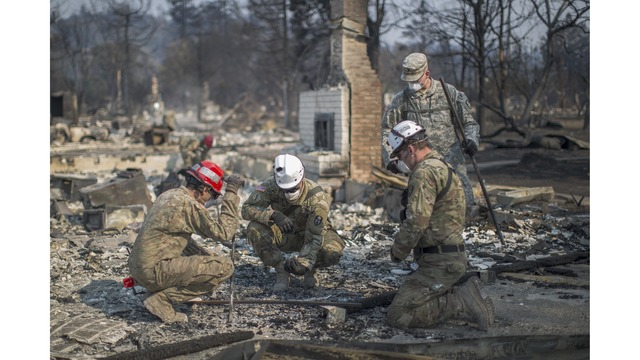 Multiple Wildfires Continue To Ravage Through California Wine Country_651656