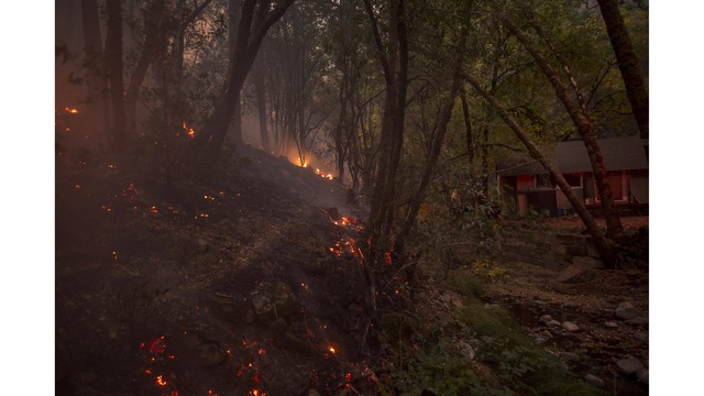 Multiple Wildfires Continue To Ravage Through California Wine Country_651667