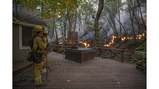Multiple Wildfires Continue To Ravage Through California Wine Country_651670