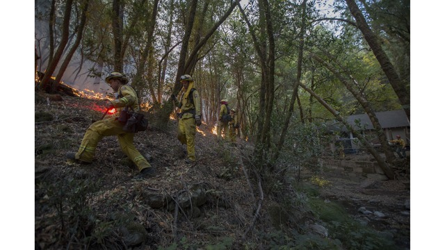 Multiple Wildfires Continue To Ravage Through California Wine Country_651676