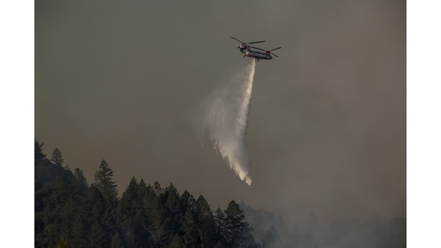 Multiple Wildfires Continue To Ravage Through California Wine Country_651678