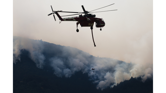 Multiple Wildfires Continue To Ravage California Wine Country_652383