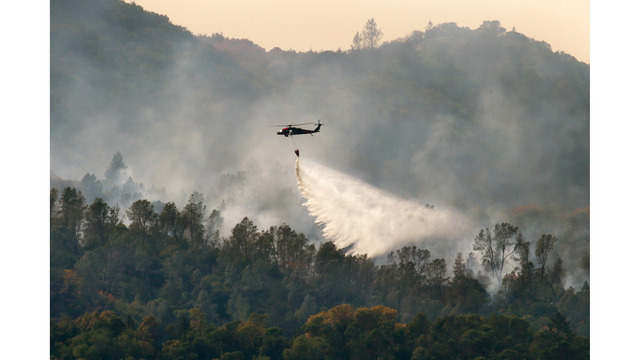 Multiple Wildfires Continue To Ravage California Wine Country_652385