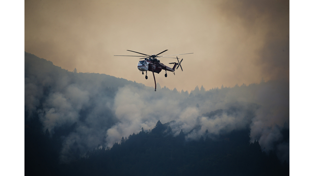 Multiple Wildfires Continue To Ravage California Wine Country_652387