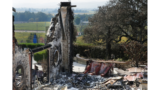 Multiple Wildfires Continue To Ravage California Wine Country_652380