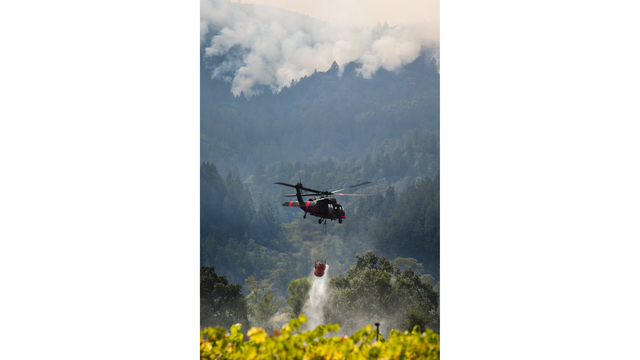 Multiple Wildfires Continue To Ravage California Wine Country_652384