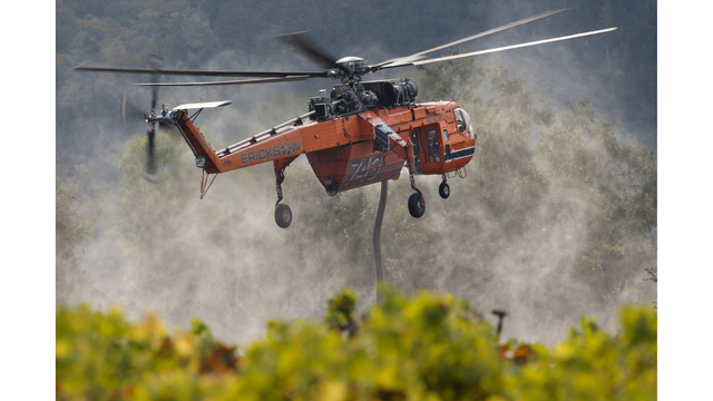 Multiple Wildfires Continue To Ravage California Wine Country_652386
