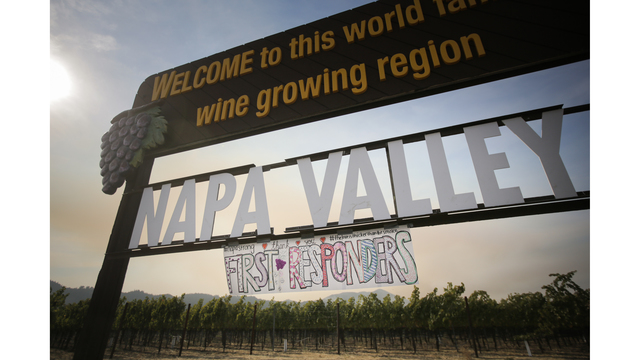 Multiple Wildfires Continue To Ravage California Wine Country_652389