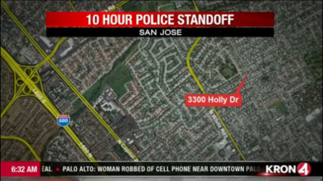 VIDEO Woman arrested after hourslong standoff with San Jose police