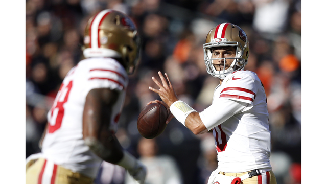 Jimmy Garoppolo leads 49ers to victory over Bears, 15-14