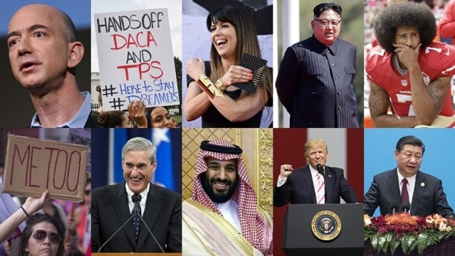 Time magazine reveals shortlist for 2017 Person of the Year