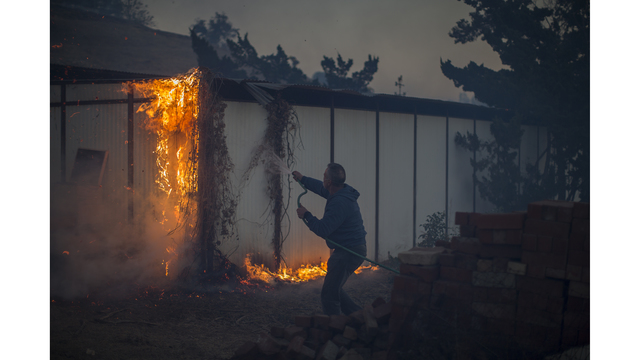 Southern California Wildfires Forces Thousands to Evacuate_682247