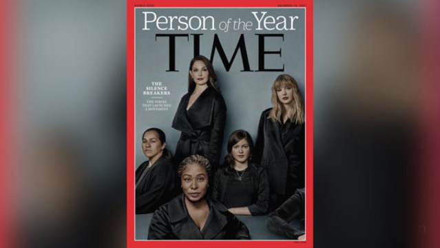 TIME Magazine names #MeToo Movement 2017 Person of the Year