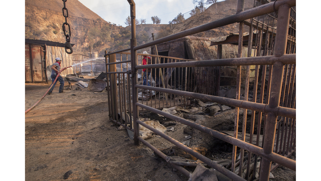 Southern California Wildfires Forces Thousands to Evacuate_683699