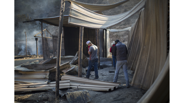Southern California Wildfires Forces Thousands to Evacuate_683697
