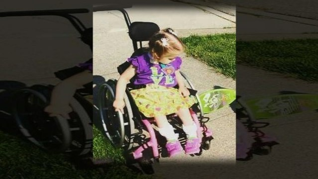 Girl's wheelchair stolen from front porch while she waited for school bus