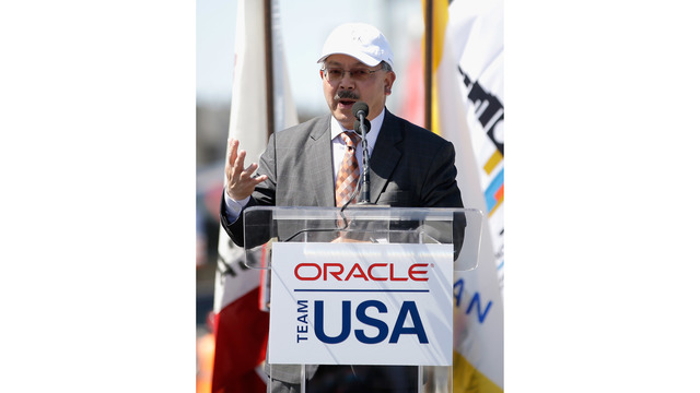 Oracle Team Launch New America's Cup Yacht_685593