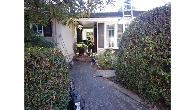 Squirrel nearly burns down Menlo Park home