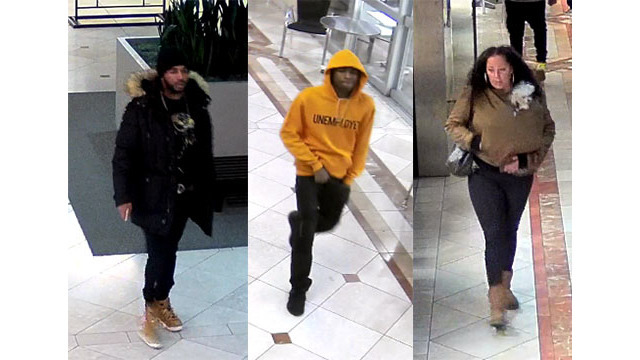 Police: 3 suspects attempt to use fraudulent credit cards at Daly City mall