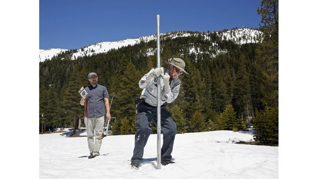 California's first 2018 survey finds little snow