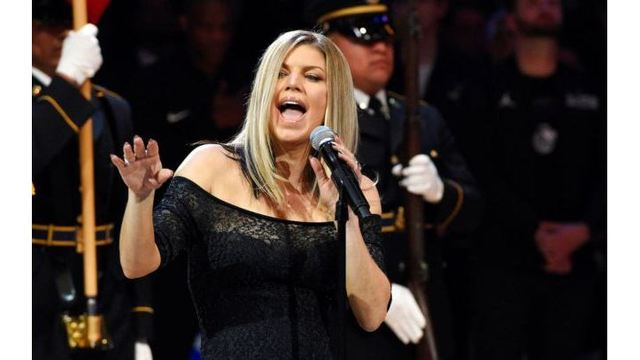 WATCH: Fergie's NBA All-Star Game national anthem confuses, amuses
