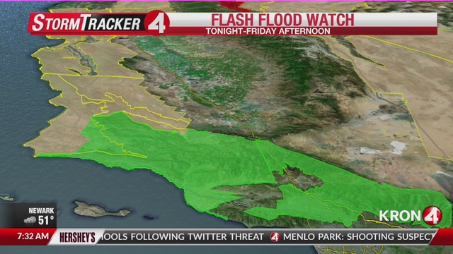 Weather Alert: Powerful storm rips through the Bay Area
