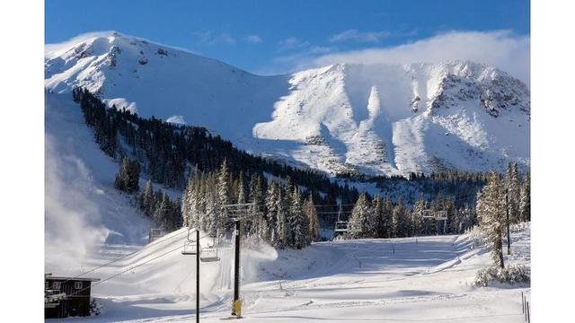 3 people survive being partially buried in avalanche on Mammoth Mountain